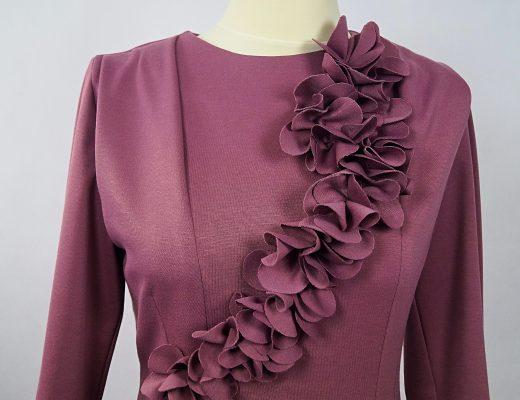 Sukienka z kwiatami